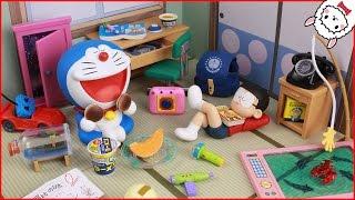 Doraemon toy everyday adventure Re-MeNT Miniature toys stopmotion