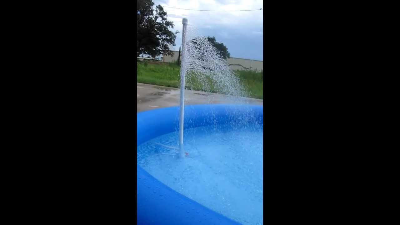 Swimming Pool Water Chillers : Intex above ground pool mister cooler