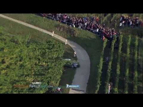 Solberg's Crash - 2012 WRC Rallye de France - Best-of-Rallylive.com