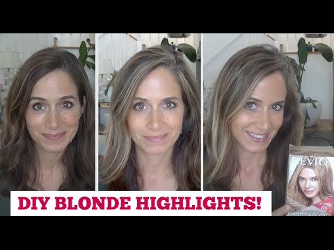 How To Get Perfect DIY BLONDE HIGHLIGHTS!