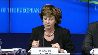 Nearly all EU countries ignore new internet privacy law; Kroes considers court action