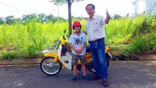 Hướng dẫn chạy xe máy cho các bạn chân ngắn, dễ như chạy xe đạp.