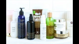 MY UPDATED CLEANSER COLLECTION!