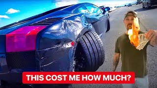 LAMBORGHINI CRASH BURNS MY BANK ACCOUNT! *MONEY LOST EXPOSED*