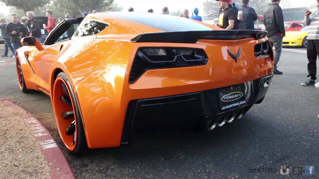 Heavily Modified Corvette C7 Youtube