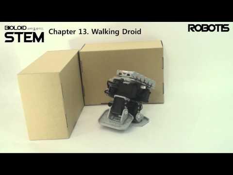 BIOLOID STEM   Chapter 13  Walking Droid