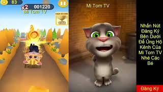 Game Mèo Chạy Đưa  Nhạc Thiếu Nhi Mèo Tom Hát Nhạc Thiếu Nhi
