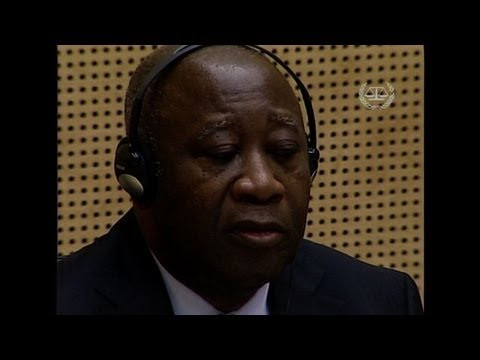 Gbagbo in international court over poll bloodshed