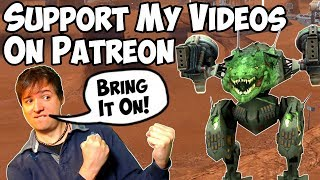 Support My War Robots Content on Patreon & Become a Coop-Partner