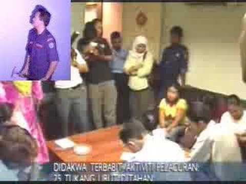 Massage Parlour Raid at Puchong - 28 Jun 07 Video