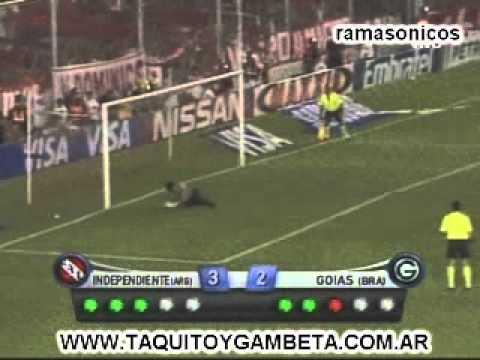 Independiente 3 (5) - Goias 1 (3)