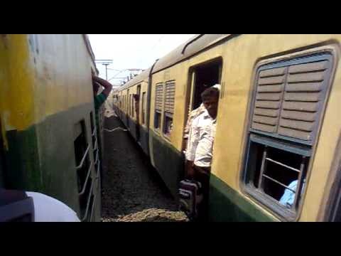 Indian Local Train Crossing Video video