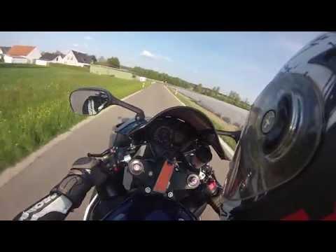 Motorcycle Factory   Suzuki GSXR 1000   Wheelies   GoPro