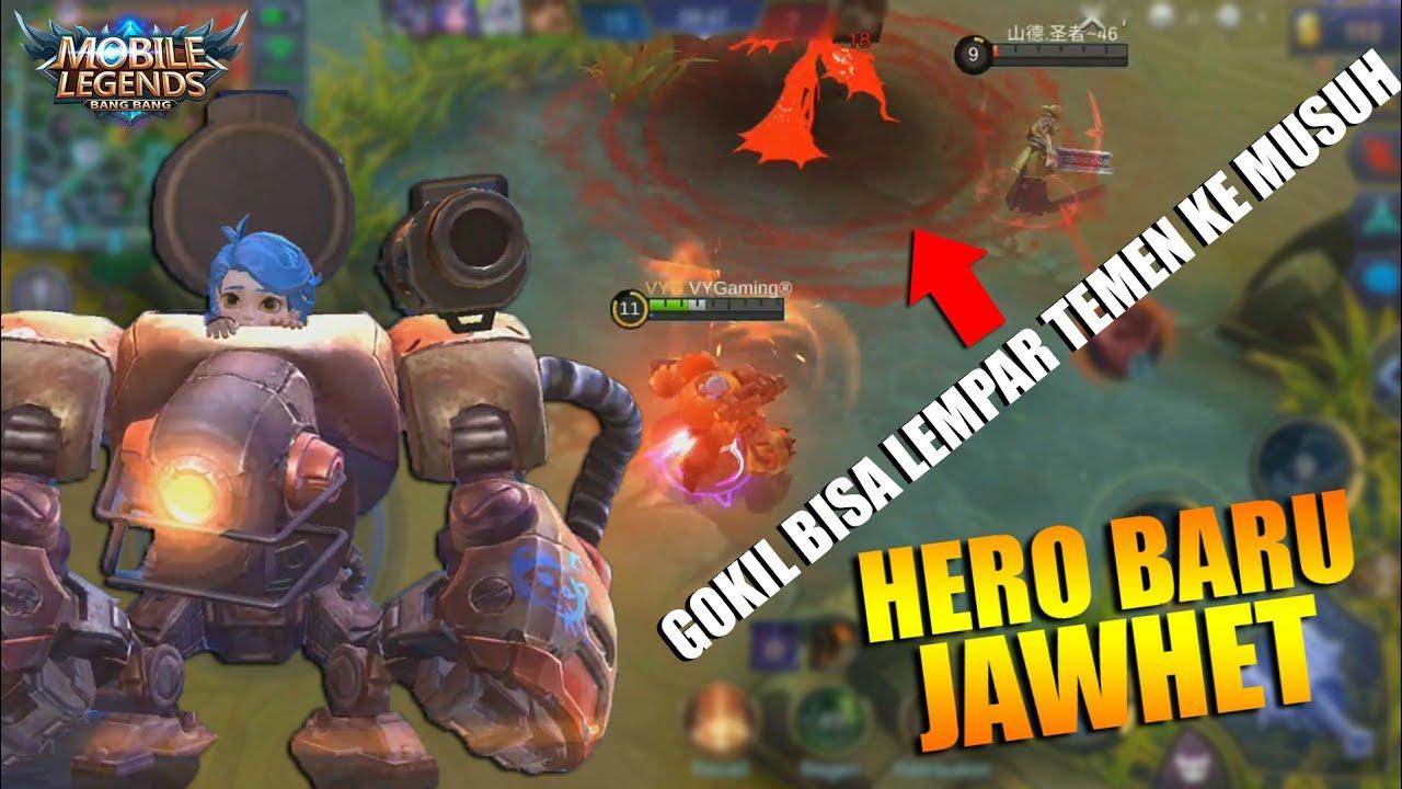HERO BARU JAWHEAD OP FIGHTER - BISA NGELEMPAR TEMEN KE MUSUH! GOKIL!!! (Mobile Legends Indonesia)