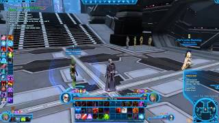 SWTOR: How To Get Text In Health Bar