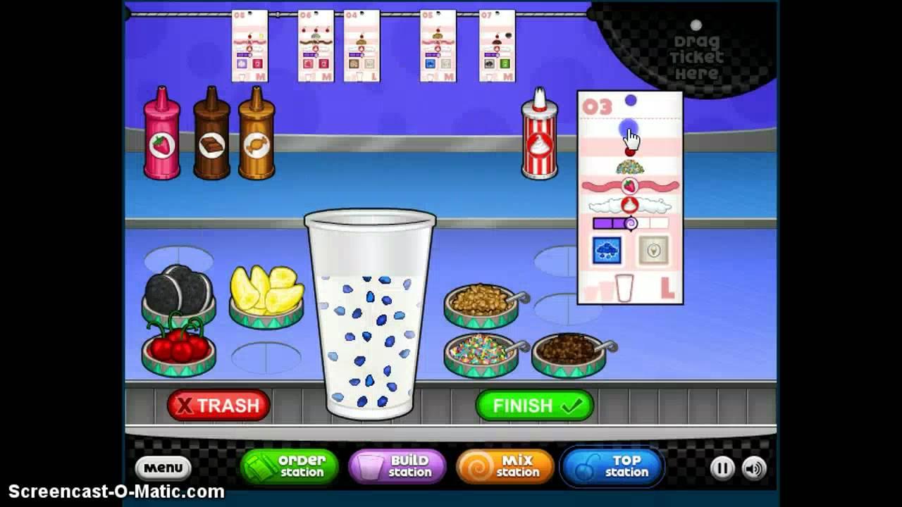 Cool Math Games Papa's Freezeria