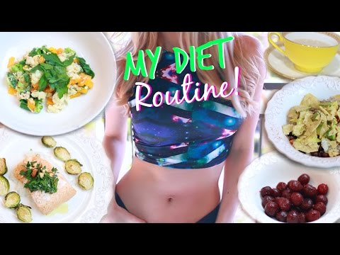 MY DIET ROUTINE ♥ Healthy Meal Ideas