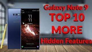 Samsung Galaxy Note 9 Top 10 MORE Hidden Features 20 Tips & Tricks Part 2   YouTube Tech Guy