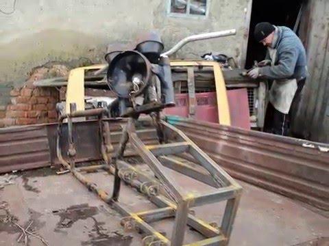 Трактор из ваз 2109 своими руками