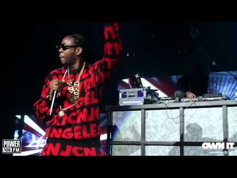 2 Chainz, Big Sean, J. Cole, B.o.B, Kid Ink & More Perform at Cali Christmas 2013