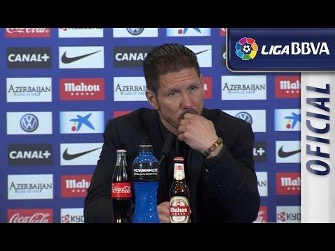 Rueda de Prensa | Press Conference de Simeone tras el Atlético de Madrid (1-0) RCD Espanyol - HD