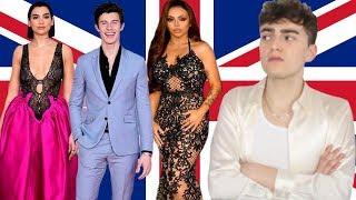 BRIT AWARDS 2019 RED CARPET ROAST (british fashion is dead)
