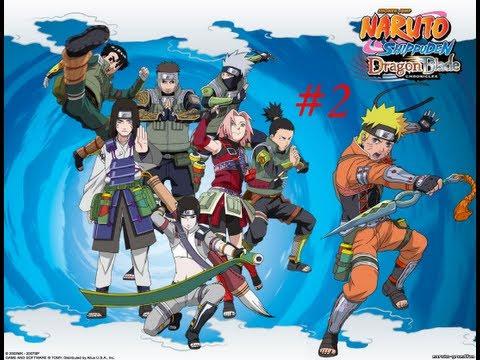 Naruto Shippuden:Dragon Blade-ТЕХНИКИ!!!!![2 серия]