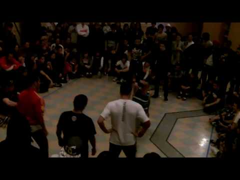 Haiti battle in Seattle 2010 - Monkee Movement vs Knuckle Movement