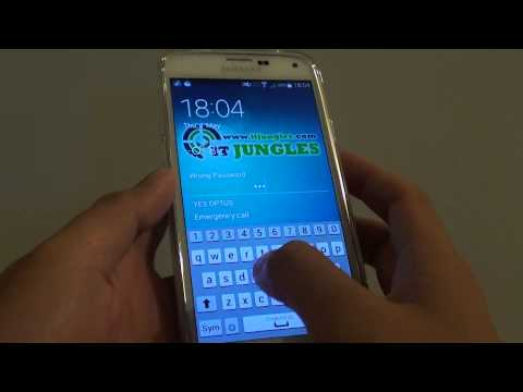 Samsung Galaxy S5: How to Remove All Screen Lock (PIN/Password/Pattern Lock)
