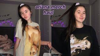 Ariana grande sweetener merch haul