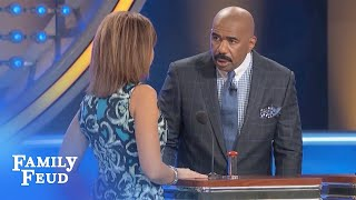 A man POPS WHAT? | Family Feud