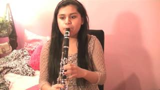 Kiss You-One Direction (Clarinet Cover)