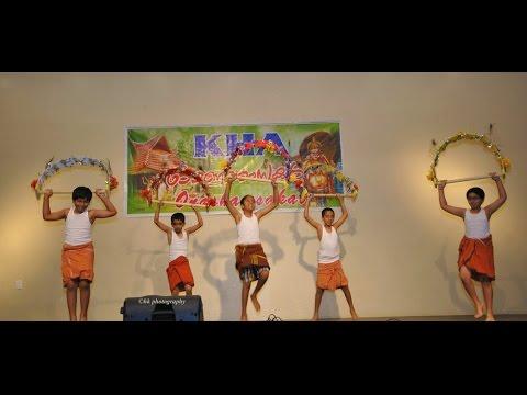 KHA Onam Celebration 2014 : Kavadi Dance by Kids