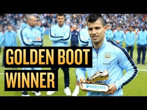 KUN WINS GOLDEN BOOT | Sergio Aguero's reaction