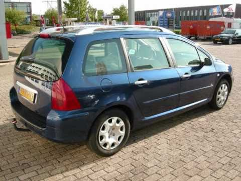Peugeot 307 2.0 HDI 66kw SW Station bj.2004 www.maxcar.nl Ede auto Auto's