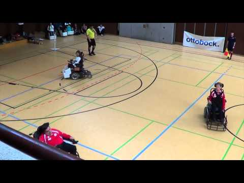 Otto Bock Powerchair Football Tournament - Game 1 - Austria A-Team against Germany