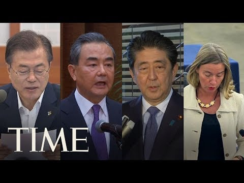 World Leaders React To The Meeting Between President Trump And Kim Jong Un | TIME