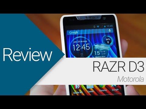 [Review] Motorola RAZR D3 (en español)