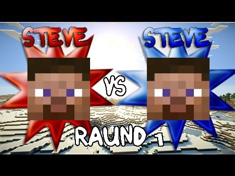 Steve vs. Steve - A Minecraft Rivalry - EP 2.1