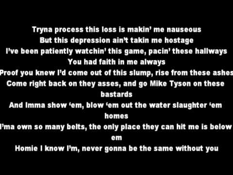 You're Never Over (Explicit Viersion) Eminem Lyrics