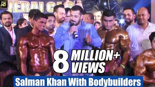 Salman Khan With Bodybuilders