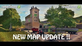 NEW MAP MOD UPDATE AGAIN in Farming Simulator 2017 | GAME CHANGER | PS4 | Xbox One