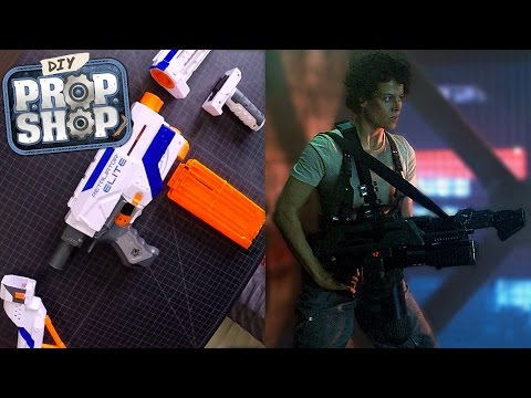 Build Your Own Aliens M41-A Pulse Rifle - DIY Prop Shop