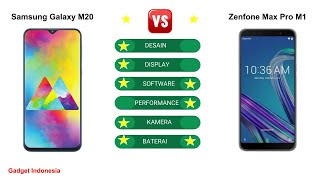 Samsung Galaxy M20 vs Asus Zenfone Max Pro M1   Bagus Mana ?