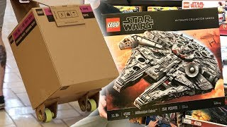 Buying the LEGO UCS 2017 Millennium Falcon - SOLD OUT!