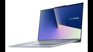#CES19: Asus ZenBook S13 Laptop With 'World's Slimmest Bezels' ( Review in Hindi) Up Coming Laptop