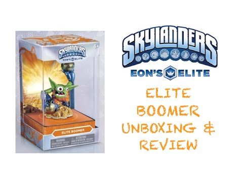 Skylanders Eon's Elite Boomer - Unboxing & Review