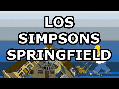 Los Simpsons Springfield + MOD rosquillas infinitas