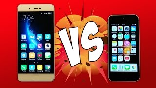 Xiaomi Mi5s vs iPhone 5s - ЧТО ЛУЧШЕ?