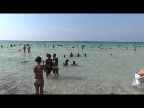 Beach in Cuba, near Havana /08.2011/ FullHD